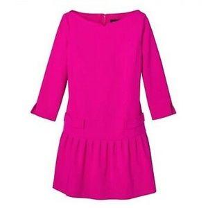 Victoria Beckham Target Drop Waist Ruffle Dress